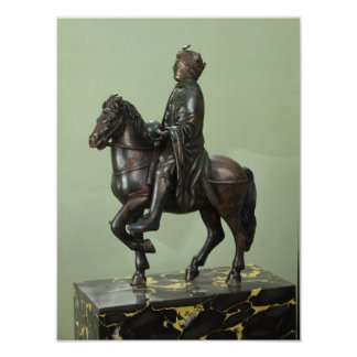 Equestrian statue of Charlemagne 2 Poster