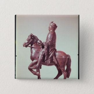 Equestrian statue of Charlemagne Button