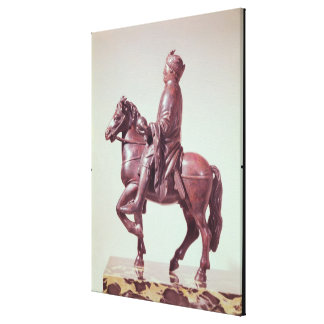 Equestrian statue of Charlemagne Canvas Print