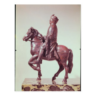 Equestrian statue of Charlemagne Postcard