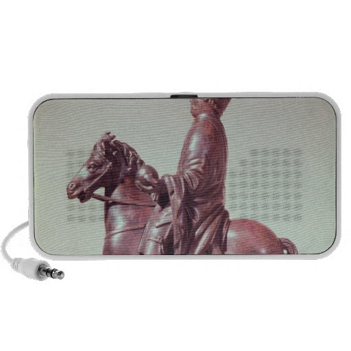 Equestrian statue of Charlemagne Mini Speakers