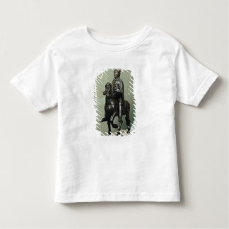 Equestrian statue of Charlemagne Toddler T-shirt