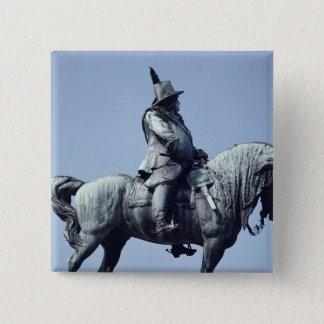 Equestrian statue of Charles Gustav X , Button