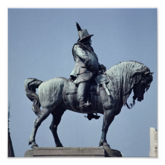 Equestrian statue of Charles Gustav X , Posters