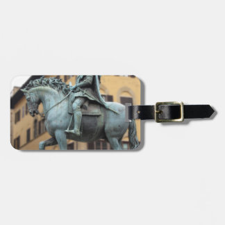 Equestrian statue of Cosimo de Medici, Florence Luggage Tag