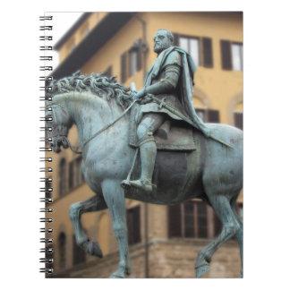 Equestrian statue of Cosimo de Medici, Florence Notebook