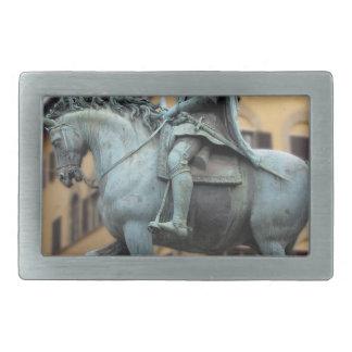 Equestrian statue of Cosimo de Medici, Florence Rectangular Belt Buckle