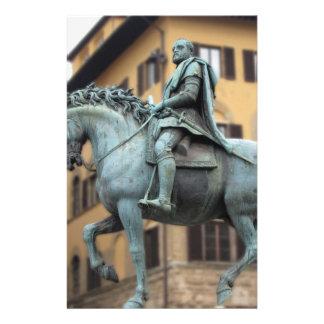 Equestrian statue of Cosimo de Medici, Florence Stationery