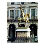 Equestrian statue of Joan of Arc Postcard