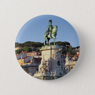Equestrian statue of King José I, Lisbon Pinback Button