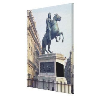 Equestrian Statue of King Louis XIV (1816-22) (bro Canvas Print