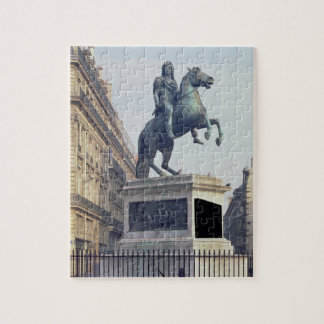 Equestrian Statue of King Louis XIV (1816-22) (bro Jigsaw Puzzle