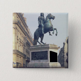 Equestrian Statue of King Louis XIV (1816-22) (bro Pinback Button