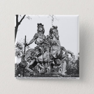 Equestrian statue of Louis XIV Button
