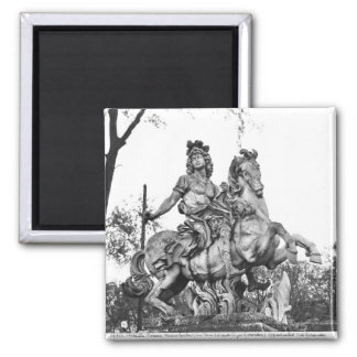 Equestrian statue of Louis XIV Magnet