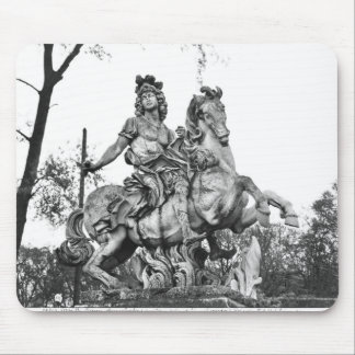 Equestrian statue of Louis XIV Mouse Pad