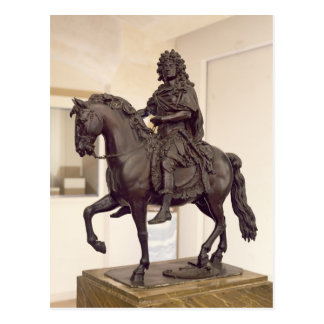 Equestrian statue of Louis XIV Postcard