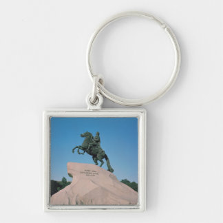 Equestrian statue of Peter I  the Great, 1782 Keychain