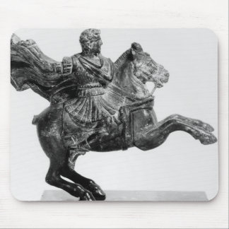 Equestrian statuette of Alexander the Great Mouse Pad