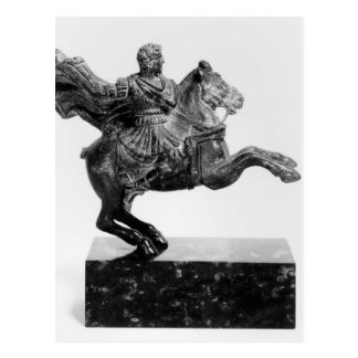Equestrian statuette of Alexander the Great Postcard