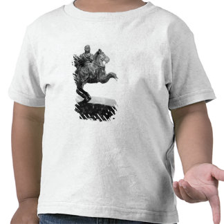 Equestrian statuette of Alexander the Great Tshirt