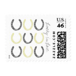 Equestrian Themed Horse Shoes Pattern Stamps