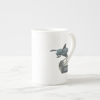 Equestrian Trophy Bone China Mug