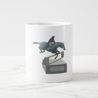 Equestrian Trophy Jumbo Mug
