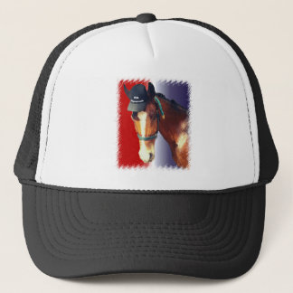 Equestrian USA Trucker Hat