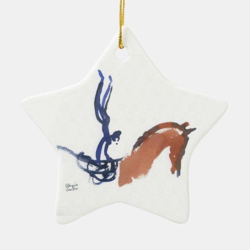 Equestrian Vaulters Ornament