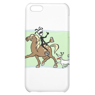 Equestrian Vaulting Cover For iPhone 5C