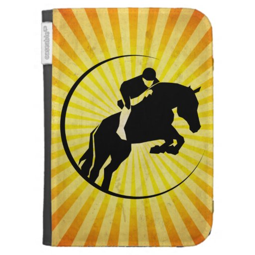 Equestrian; yellow kindle 3G cases