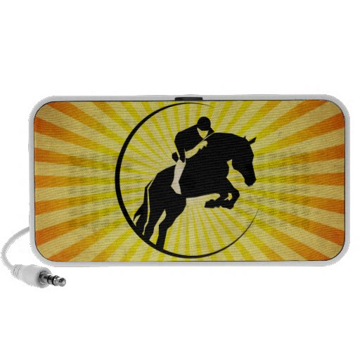 Equestrian; yellow notebook speakers