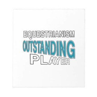 EQUESTRIANISM OUTSTANDING PLAYER NOTEPAD