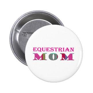 EquestrianMom Pinback Button