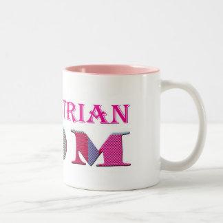 EquestrianMom Two-Tone Coffee Mug