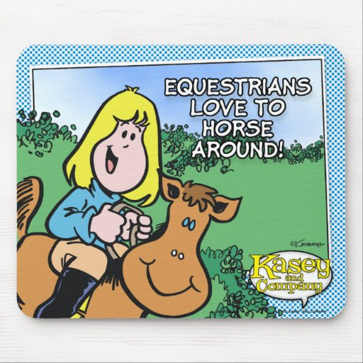 Equestrians Love To... Mouse Pad