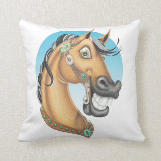 Equi-toons 'Western Showstopper' horse cushion