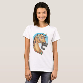Equi-toons 'Western Showstopper'  ladies t-shirt. T-Shirt