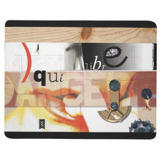 Equilibre Danger - Dadaist Collage Pocket Journal