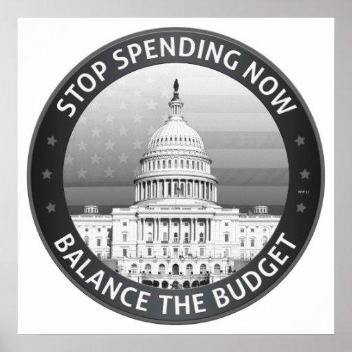 Equilibre el presupuesto impresiones