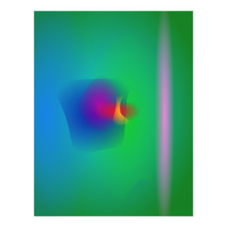 Equilibrio abstracto verde tarjetones