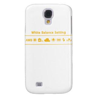 Equilibrio blanco samsung galaxy s4 cover