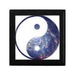 Equilibrio cósmico caja de joyas
