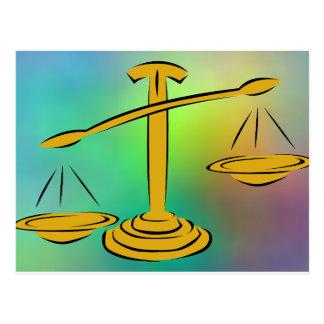 Equilibrio de las escalas postales
