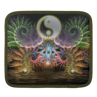 Equilibrio Fractal YinYang iPad Tablet Sleeve