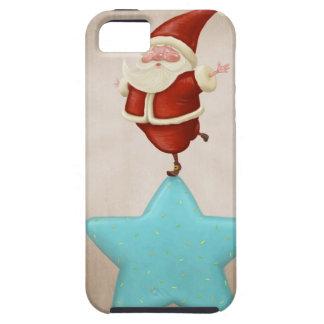 Equilibrist Papá Noel iPhone 5 Case-Mate Carcasas