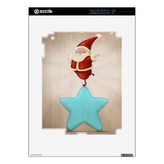 Equilibrist Santa Claus iPad 2 Skin