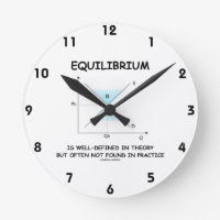 Equilibrium Is Well-Defined In Theory Not Often Round Wallclock
