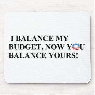 ¡Equilibro mi presupuesto que usted puede también! Alfombrilla De Raton